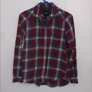 American eagle flannel size XS